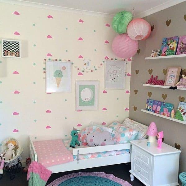 Decor delicadinho para quarto infantil de menina
