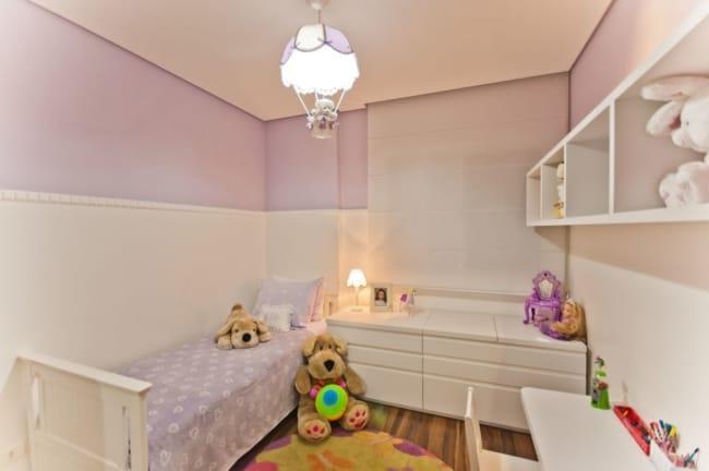 Dica de quarto simples e pequeno para menina