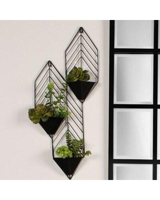 Floreira de ferro para parede13