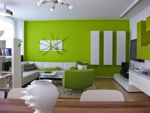 Greenery na decor da sala