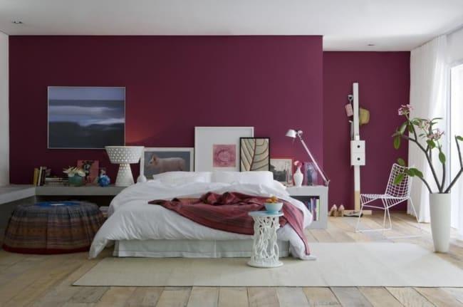 O marsala é tendência para cor de parede