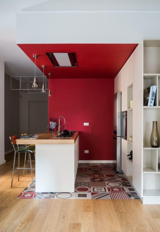 O vermelho é a cor da fome então combina com cozinhas