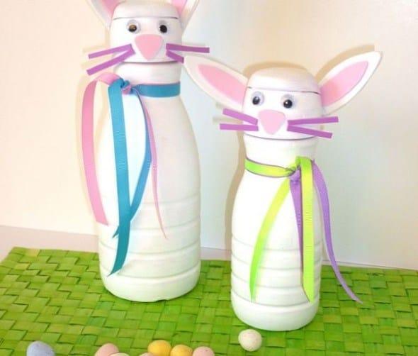 Outro modelo de artesanato para vender na Páscoa com material reciclável