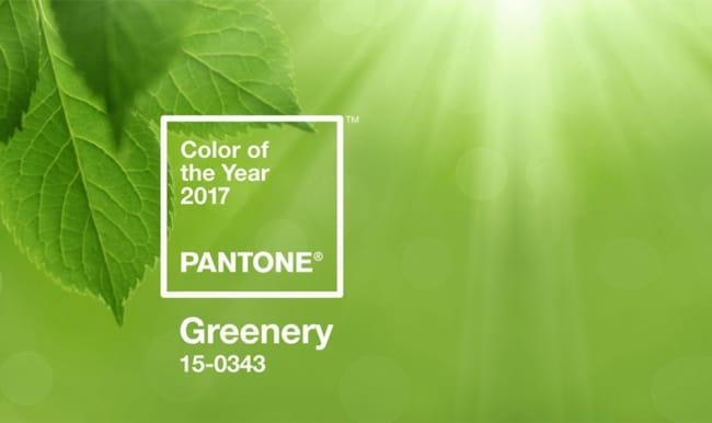 Paleta Greenery