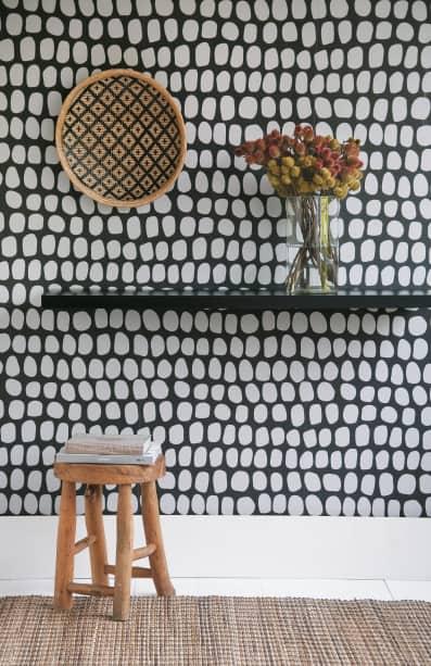 Papel de parede do designer Marcelo Rosembaun