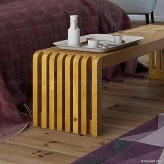 Divã  de madeira moderno