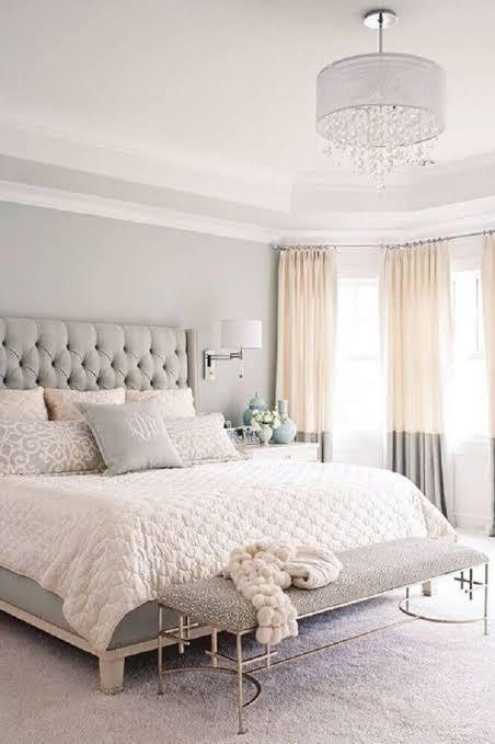 divã para quarto cinza