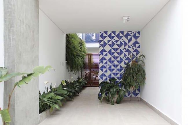 Revestimento de parede externa com cerâmica50