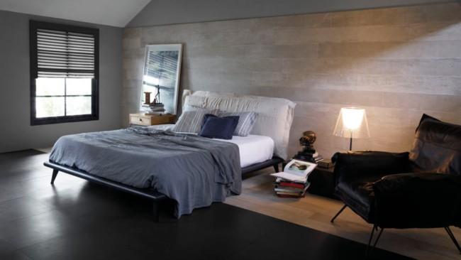 Revestimento de parede para quarto com porcelanato44