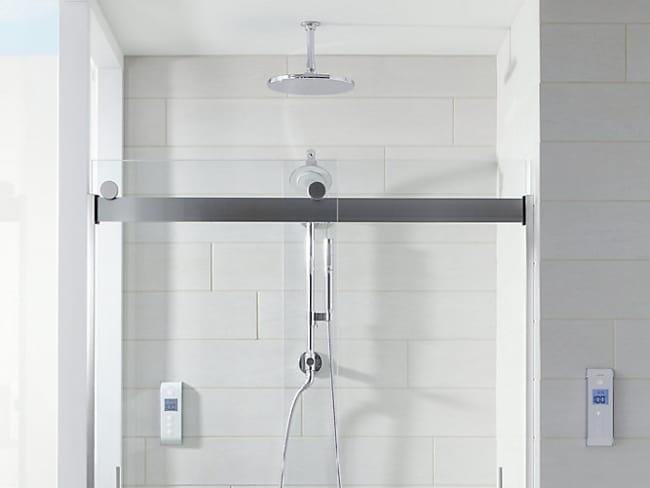 chuveiro pequeno de teto