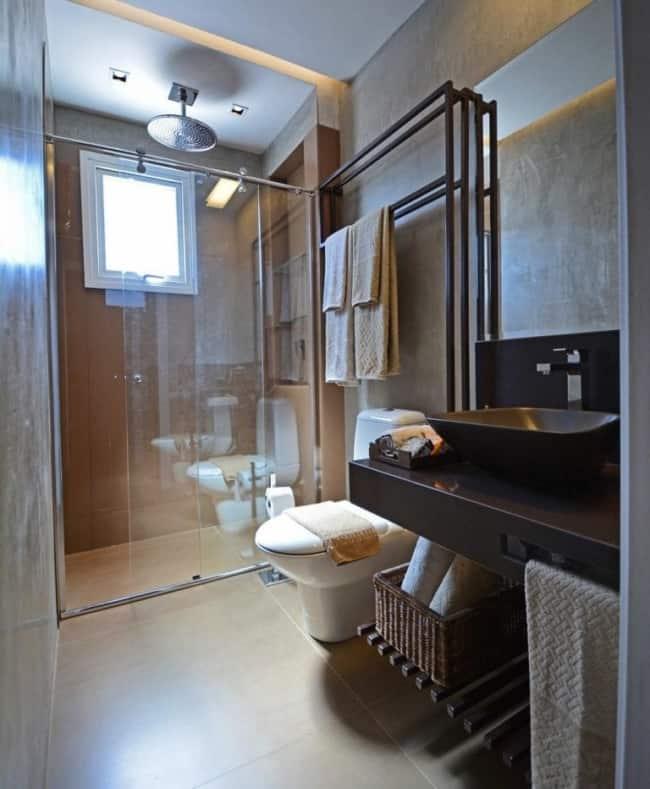 chuveiro simples para teto