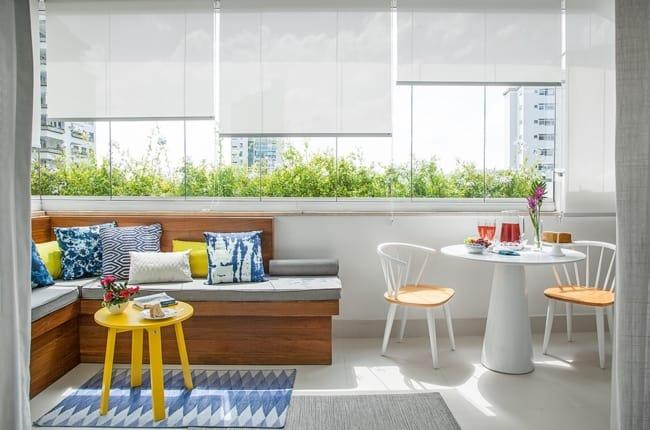 decoração com clusia em apartamento pequeno