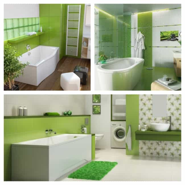 decoraçaõ com greenery no banheiro