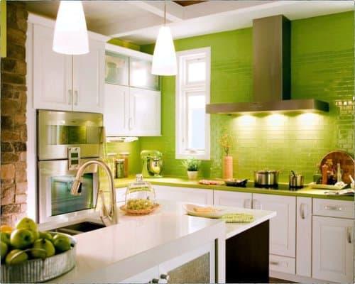 greenery na decor da cozinha