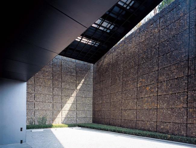 ideias de muro gabião