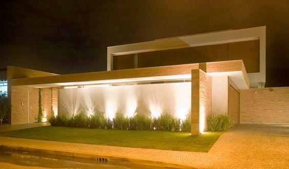 muro de casa com cerâmica