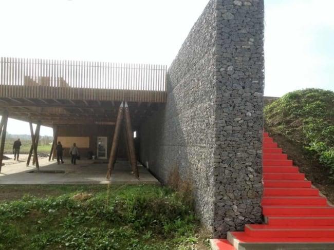 muro gabião grande