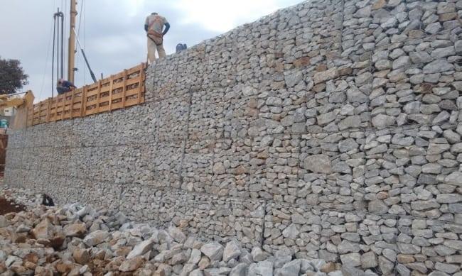 muro gabião