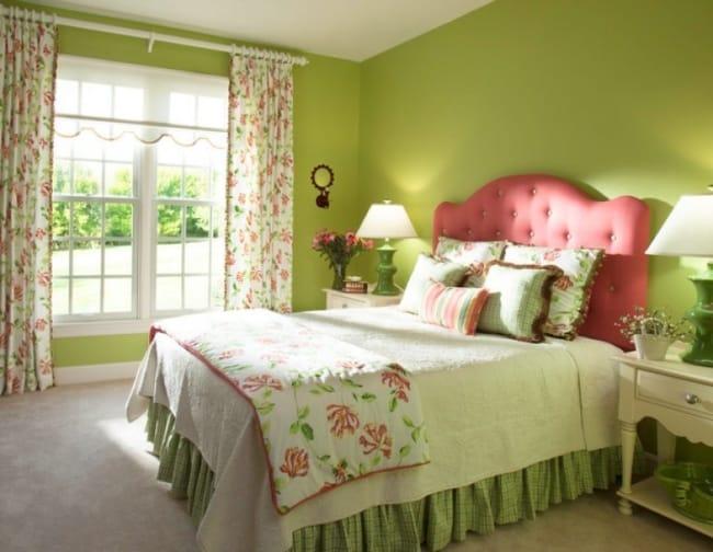 quarto greenery na decoração