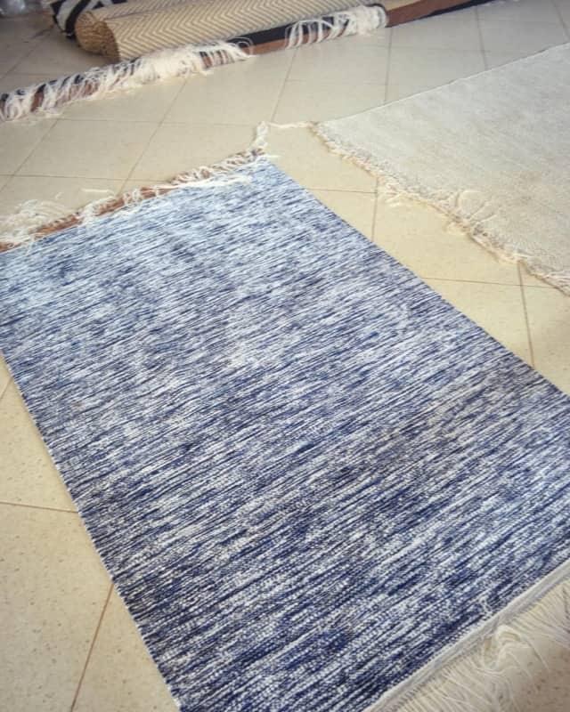 tapete artesanal de tecido