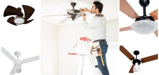 dicas de como instalar ventilador de teto
