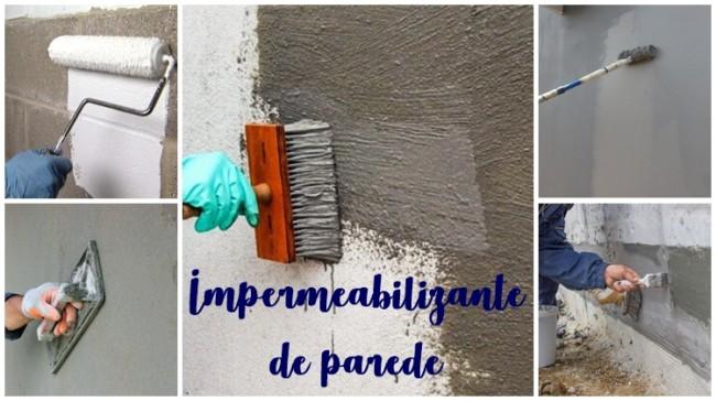 dicas sobre impermeabilizante de parede