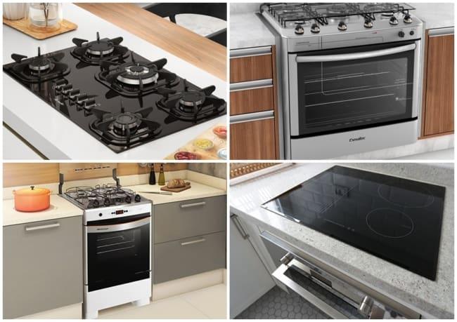 como escolher fogão para cozinha