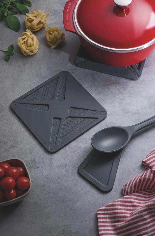 itens de cozinha em silicone