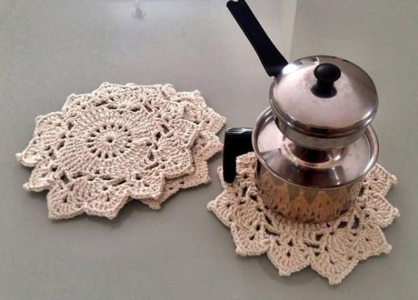 artesanato em crochê para casa