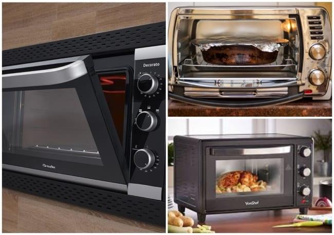 tipos de forno para cozinha