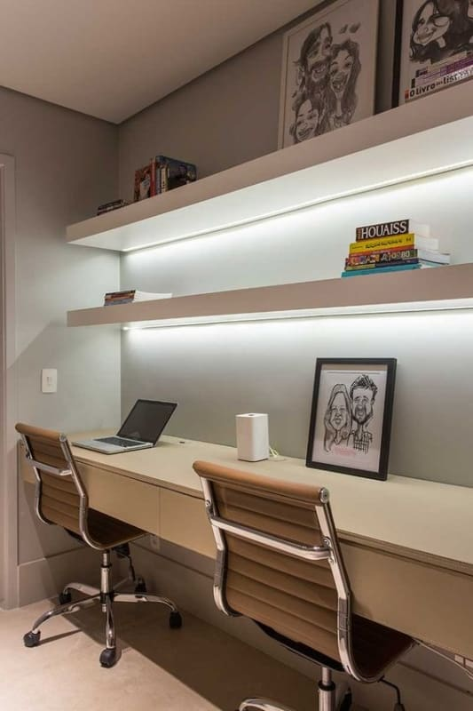 modelo de cadeira com rodízio para escritório