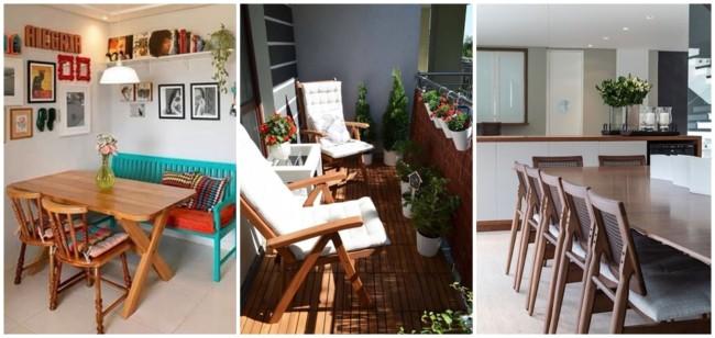 modelos de cadeiras de madeira