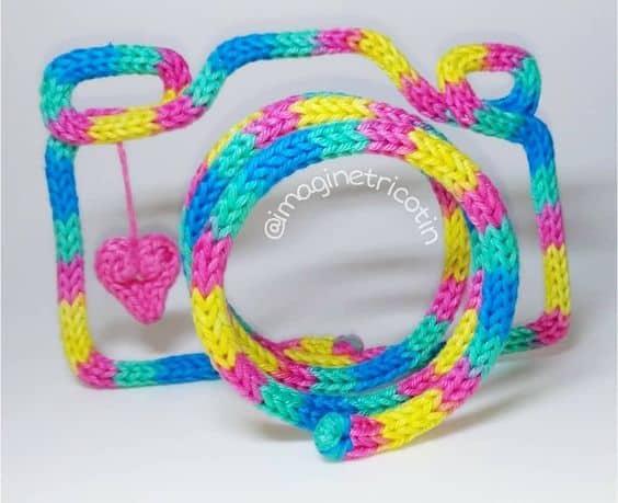 objeto decorativo de i cord
