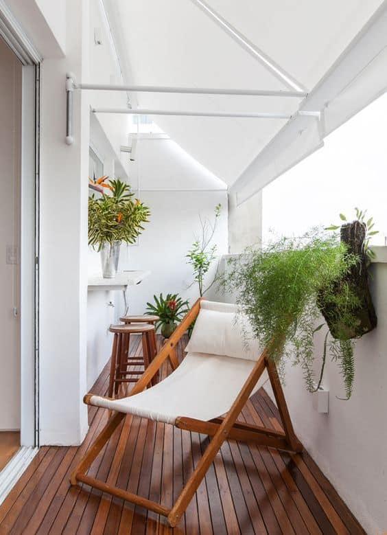 cadeira de madeira para varanda