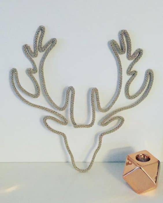 decoração criativa com i cord