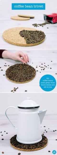 DIY descanso de panela simples