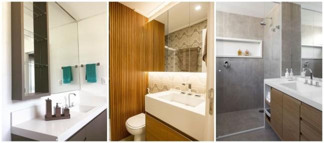 banheiro com silestone branco