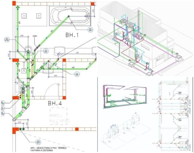 modelos de plantas hidráulicas