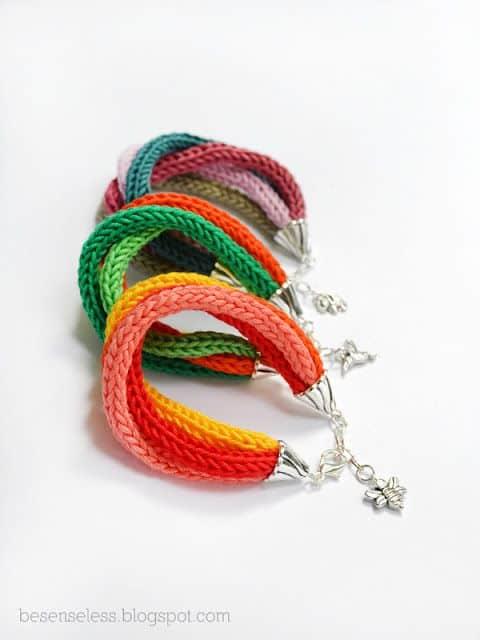 pulseiras de i cord