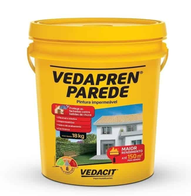 dicas para impermeabilizante Vedrapen parede