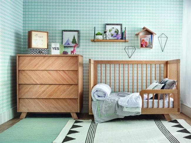 berço de madeira mini cama
