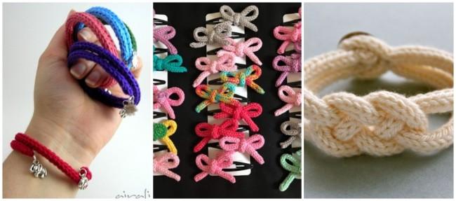 acessórios de tricotin