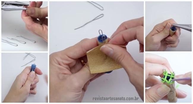 como fazer tricotin passo a passo