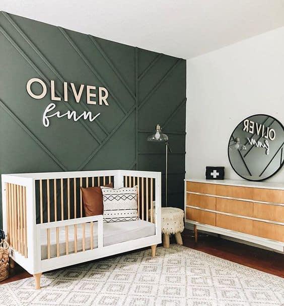 quarto infantil com berço mini cama