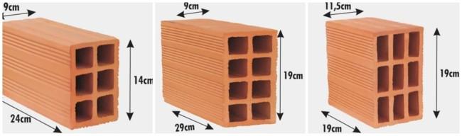 quantidade de tijolo por m²