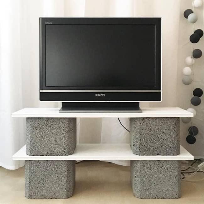Blocos de concreto para sala