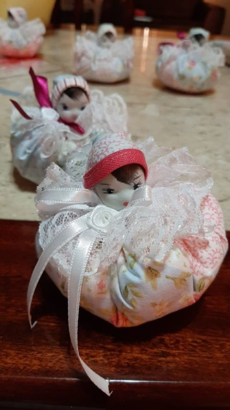 Bonequinha de sachê perfumado