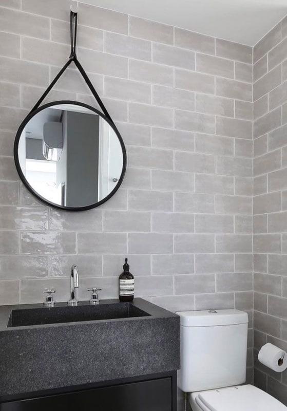 Granito São Gabriel em lavabo
