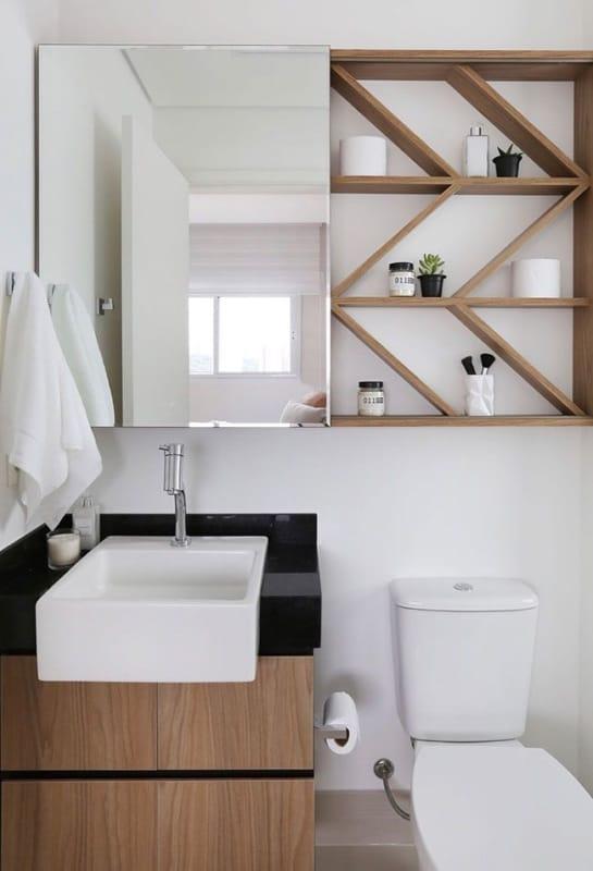 Granito São Gabriel no banheiro pequeno