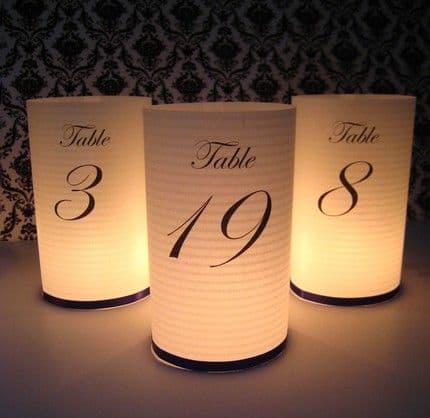 Luminaria feita com papel